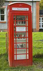 A Novel idea :) (Margaret S.S) Tags: red telephone box balquhidder