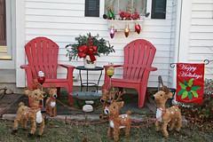 Happy Holidays (hbickel) Tags: happyholidays decorations lawnornament chairs canont6i canon photoaday pad