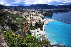 a view over Sorento (friedrichfrank1966) Tags: mediterraneo sorento amalfi italy italien sea meer mittelmeer clouds wolken klippen cliffs