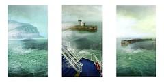 Serie du 08 07 16 : Calais - Douvre (basse def) Tags: sea boats england dover