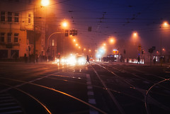 this, that and the other way (ewitsoe) Tags: dawn ewitsoe nikon d80 35mm street urban foggy fog mist autumn commuter