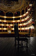 Teatro Verdi, Trieste, dal palco (s.austinukit) Tags: theatre stage chair indoor prospective sigma 18 300