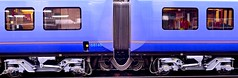 The beauty of coupling (Englepip) Tags: train carriage coupling engineering shapes blue outdoor railway symmetry pattern station
