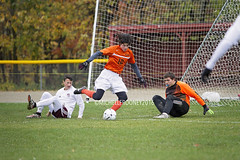 IMG_3809eFB (Kiwibrit - *Michelle*) Tags: soccer varsity boys high school game team monmouth mustangs nya north yarmouth academy maine 102916