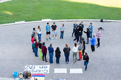 20161104-United in Prayer for Peace - Colombia vigil-008 (EasternMennoniteUniversity) Tags: colombia emu easternmennoniteuniversity lsa latinostudentalliance thomasplaza campuscenter candlelightvigil vigil
