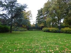 Stanley Park (Puerto De Liverpool.) Tags: stanleypark parkland liverpool merseyside england uk bridge trees autumn natureparksandgardens