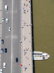 day twelve: eiffel tower (dolanh) Tags: seine france pontdiena boat bateaumouche paris river tourboats