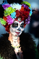 All Souls 5 (barbara carroll) Tags: diadelosmuertos allsoulsprocession dayofthedead calavera tucson sacred autumn