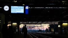 Almere Centrum Station (Lin ChRis) Tags: almere 阿爾梅勒 荷蘭 holland netherlands trainstation 車站 morning am trip 旅 travel ns