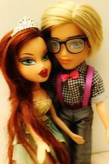 The Nerd and the Princess (BratzPVI) Tags: brayz roxxi cameron bratz mga