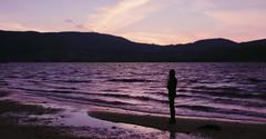 290/366: time to recover (Andrea  Alonso) Tags: me selfportrait autorretrato 366 365 sea ocean sunset puesta de sol atardecer mar oceano ola wave colour color colorful colorido shadow sombra