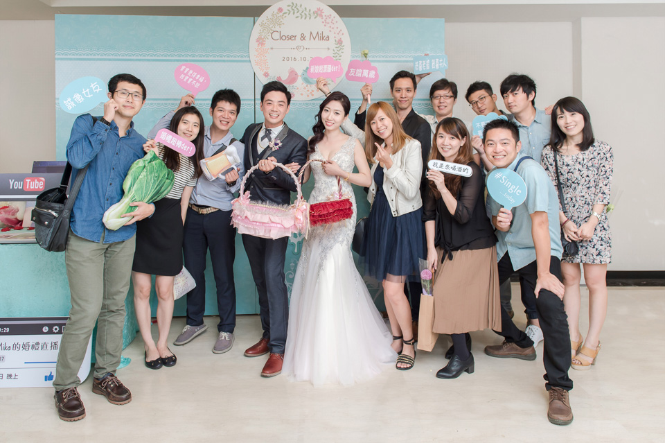 台南婚攝 婚禮紀錄 情定婚宴城堡 C & M 178