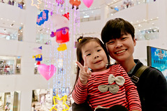 20161127-TAIMALL (violin6918) Tags: sony nex nex6 sonynex6 violin6918 taiwan taoyuan sigma sigma19mmf28dn taimall  cute lovely baby girl family portrait kid daughter littlebaby angel children child pretty princess shiuan
