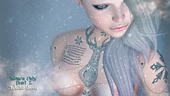 THIS IS WRONG Reindeer tattoo GIFT for WOH2 (THIS IS WRONG - Eva Artemesia (owner)) Tags: women only hunt winter gift free woh2 woh reindeer xmas freebie tattoo ink inked applier snow