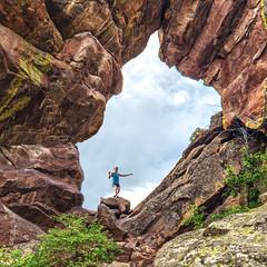 RUN: Royal Arch (Green Mountain Film Project) Tags: arch boulder chautauqua keyes mountainrunning park royal run runner running sarah trail