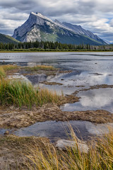 Mount Rundle II (djmeister) Tags: canadian national mount rundle hour vermillion reflections golden canada lake park banff rockies
