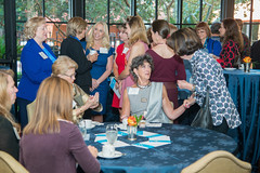 Guests at the PARTNERS Fall Coffee (UTHealth) Tags: uthealth school nursing partners fall coffee 2016 houston texas university health science center