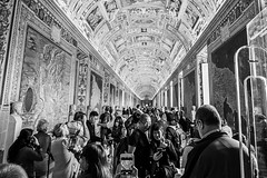 two in a crowd (chris.duesing) Tags: italy vatican people paintings