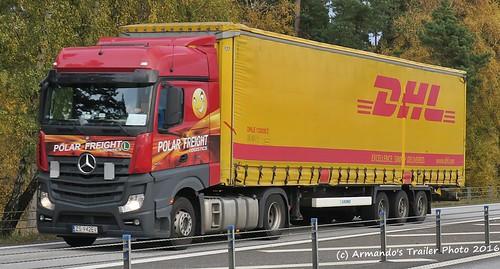 Mercedes (PL942) Polar Freight Logistics - DHL - a photo on
