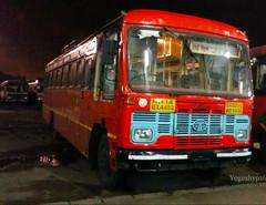 Mumbai - Jamkhed (yogeshyp) Tags: msrtc st msrtcparivartanbus jamkhedst