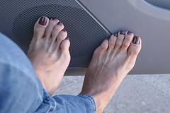 Dea (IPMT) Tags: toenail sexy toes polish foot feet pedicure painted toenails pedi zoya barefoot barefeet descalza warm milky light brown nude creme natural cafe jeans dash