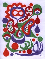 oogie8 (Ben Lyon) Tags: lsd acid psychedelic googie midcenturymodern sharpies atomic eames jimflora abstract