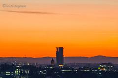 GEWA-Tower #  2360 # Nikon D700 - 2016 (irisisopen f/8light) Tags: nikon d700 farbe digital color irisisopen fellbach gewa hochhaus tower