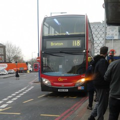 Go-Ahead London General E149 SN60BZX - route 118 to Brixton (Unorm001) Tags: e149 sn60bzx sn60 bzx goahead go ahead london general buses bus routes route 118