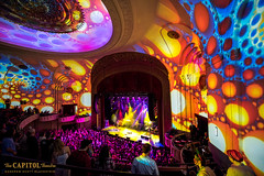 DSC_6497 (capitoltheatre) Tags: thecapitoltheatre thecap capitoltheatre moe holiday holidayconcert afamoelyholidayconcert lights projections