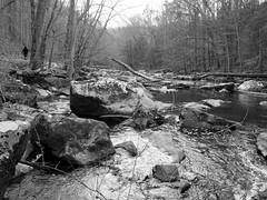 Rocky River (pilechko) Tags: kenlockwoodgorge califon nj river monochrome blackandwhite water hoffmanscrossing