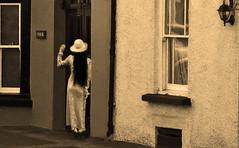 Please let me in (coollessons2004) Tags: krystalsmith woman vintage ireland elegant