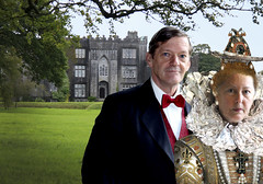 "339/366 The Fourth Earl of Boxty and His Eccentric Wife Hildegaard Pose at their Summer Home (ruthlesscrab) Tags: wah ""we'rehere"" hereios ""366the2016edition"" 3662016 ""day339366"" 4dec16 opulence wealthy fancy hss sliderssunday"