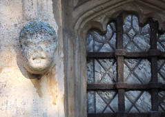 All Saints, Walsoken (badger_beard) Tags: all saints church walsoken wisbech west norfolk cambridgeshire cambs grotesque leaded window