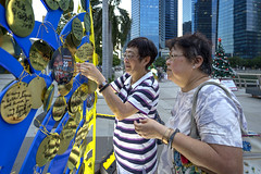 Marina Bay Countdown Singapore (MBCS) 2017 (gintks) Tags: gintaygintks gintks singapore singaporetourismboard marinabaysands marinabayfinancialcentre wishingcharms wishingtrees marinabaycountdownsingapore2017 yoursingapore exploresingapore