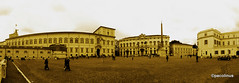 Piazza del Quirinale antica (pacolinus) Tags: roma canon stitch gimp panoramica canon5d piazza quirinale hugin ufraw