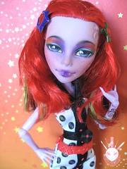 Isis (Kate's Creations) Tags: art monster high doll artist dolls ooak roller maze custom mh commission operetta reapint skrm skulltimate