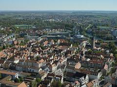 Ulm von oben(jumx) (Mofromars) Tags: church germany deutschland cathedral kathedrale kirche sigma ulm merrill highest vogelperspektive kirchturm vonoben ulmermnster hchster blickvon
