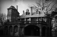 Fonthill Carriage House (David Swift Photography Thanks for 22 million view) Tags: film architecture 35mm pennsylvania doylestown nikonfm2 buckscounty henrymercer carriagehouses davidswiftphotography