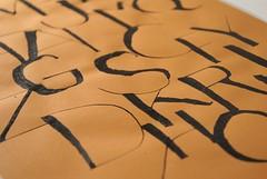 Capital letters (Ivan Jerônimo) Tags: pen handwriting freestyle brazilian calligraphy caligrafia manuscrito 書道 ブラジル カリグラフィー 西洋 rulling tiralinhas
