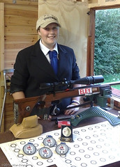 Rosie Evans (alan-evans) Tags: england people sports club north norfolk rifle pistol shooting northwalsham gbr 1813 walsham anschutz rosieevans northwalshamrpc sightron3644 ukbr22medalsawards