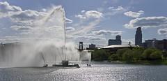 Heartland of America Fountain (cmurphy13) Tags: park fountain skyline america nebraska heartland omaha