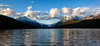 Big Sky (Explored) (GrizzlysGhost) Tags: sky lake snow mountains water clouds spring montana glaciernationalpark glacierpark gnp bowmanlake theperfectphotographer