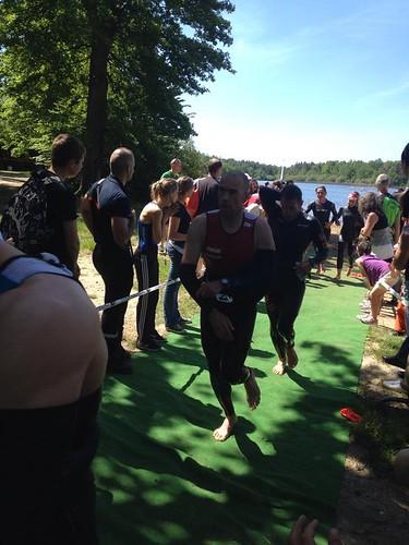 Triathlon de l'étang des Bois 2014