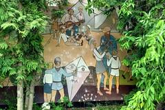 (photosucher) Tags: camp children for mural east german ddr pioneers gdr wandbild ussr cccp udssr pioniere