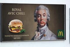 Royal avec chili (quinn.anya) Tags: chili ad royal mcdonalds messy