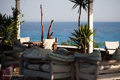 terrace with a view (filipe mota rebelo | 400.000 views! thank you) Tags: vacation beach canon hotel europe lounge balkans albania 2014 balcans fmr dhermi drymades 5dmarkii filipemotarebelo