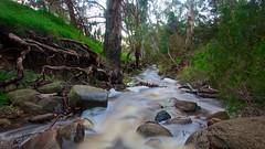 Bethany Creek (Valley Imagery) Tags: sunset water creek australia bethany valley flowing southaustralia barossa imagery