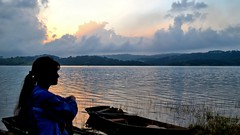 Sunset at Umiam Lake, Shillong, India (Biswajit_Dey) Tags: