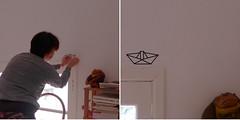 Decor com fita isolante (super_ziper) Tags: diy casa barco craft decor decorao desenho tutorial molde fita washi enfeite adesivo dobradura geomtrico decotape aprenda passoapasso comofazer superziper fitaisolante washitape