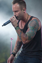 Dallas Smith (Brenda Lindal) Tags: park music canada mountains calgary rockies dallas stage country parks rocky smith canadian national alberta singer banff stampede songwriter cokacola dallassmith